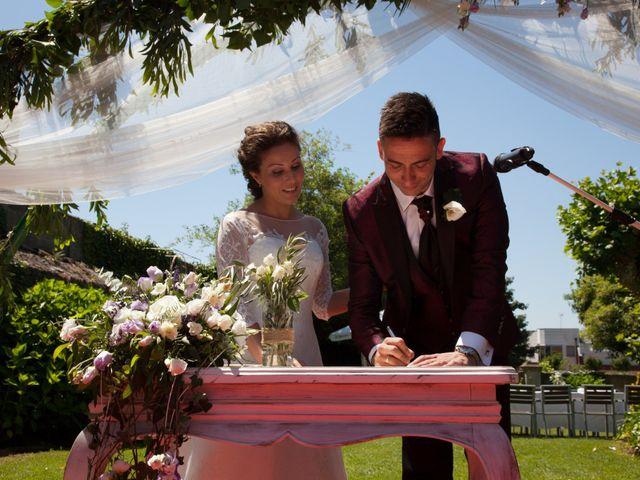 La boda de Celia y Santi