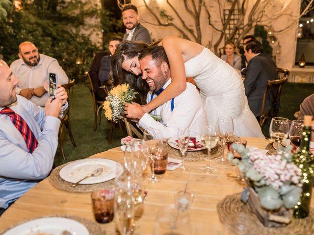 La boda de Manuel y Cristina en San Agustin De Guadalix, Madrid 27