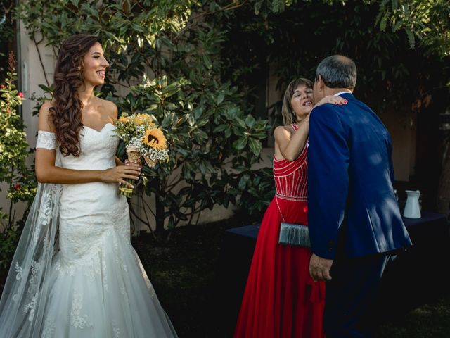 La boda de Manuel y Cristina en San Agustin De Guadalix, Madrid 93