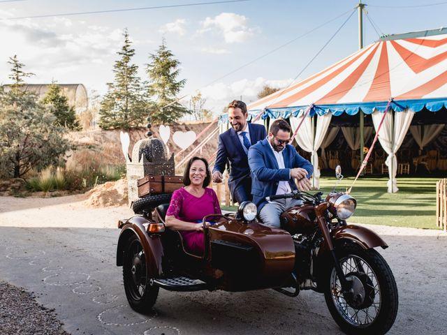 La boda de Manuel y Cristina en San Agustin De Guadalix, Madrid 97
