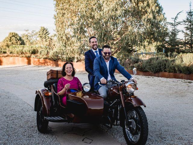 La boda de Manuel y Cristina en San Agustin De Guadalix, Madrid 98