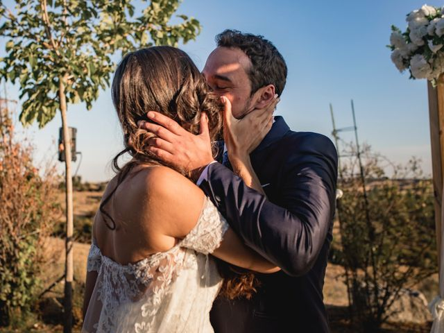 La boda de Manuel y Cristina en San Agustin De Guadalix, Madrid 112