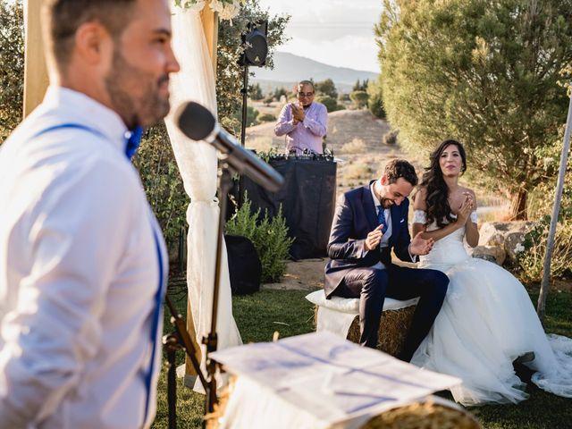 La boda de Manuel y Cristina en San Agustin De Guadalix, Madrid 118