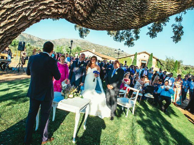 La boda de Jesús y Sandra en Collado Villalba, Madrid 1