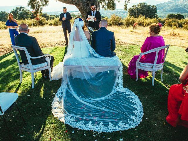 La boda de Jesús y Sandra en Collado Villalba, Madrid 43
