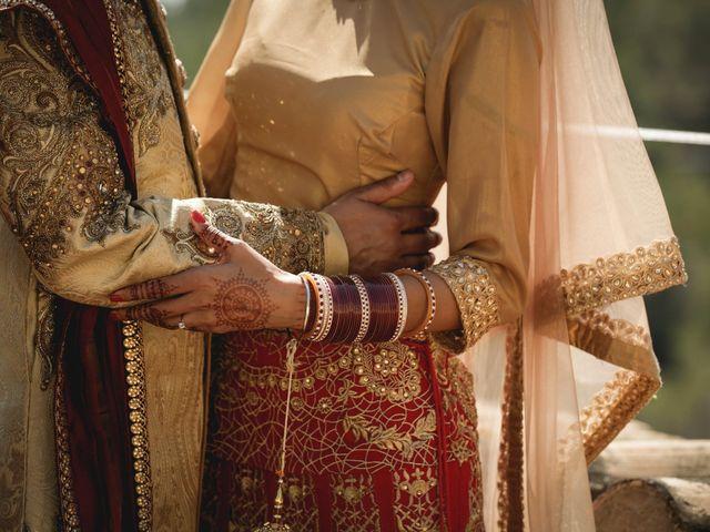 La boda de Anmol y Raveen en Sitges, Barcelona 36