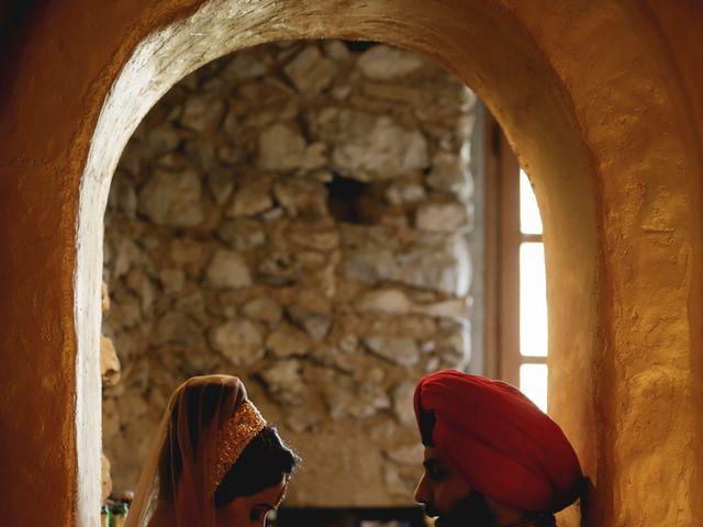 La boda de Anmol y Raveen en Sitges, Barcelona 45