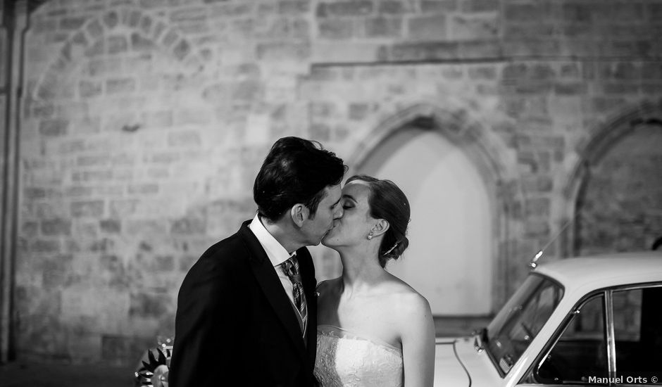 La boda de Raúl y Eva en Beniparrell, Valencia