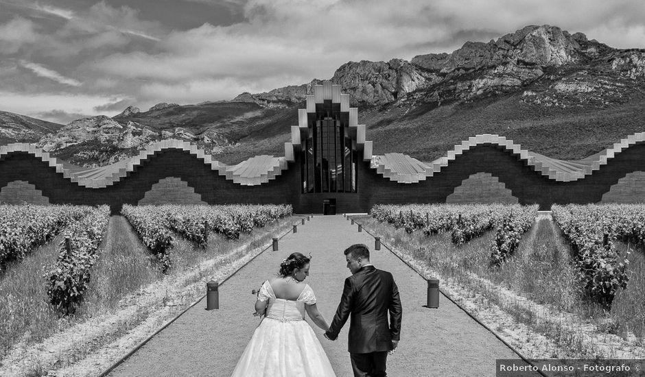 La boda de Alex y Tamara en Labastida, Álava