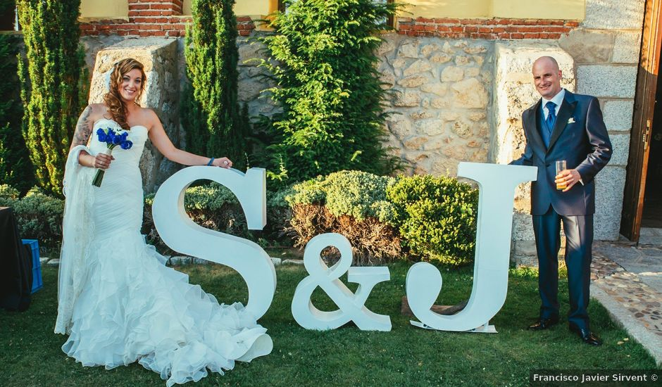 La boda de Jesús y Sandra en Collado Villalba, Madrid