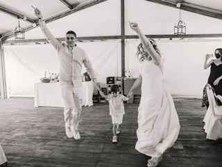 La boda de Lorena y Barra