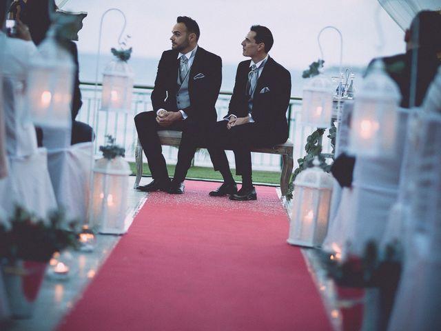 La boda de Ángel y Felipe