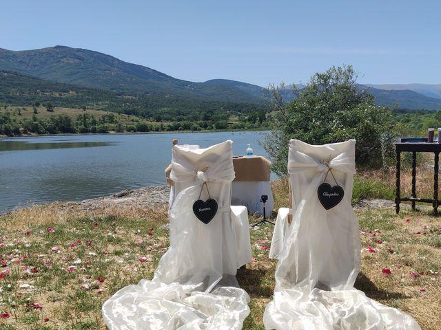 La boda de Noenma y Alejandro en Pinilla Del Valle, Madrid 1