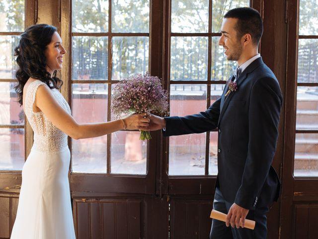 La boda de Victor y Cristina en Sant Cugat Sesgarrigues, Barcelona 11