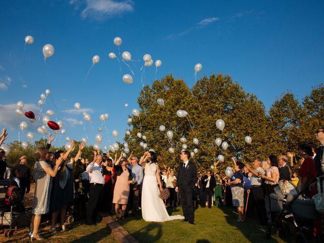 La boda de Victor y Cristina en Sant Cugat Sesgarrigues, Barcelona 19