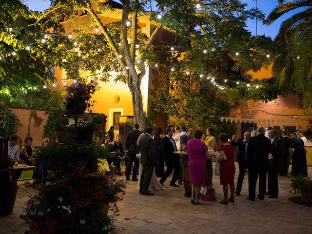 La boda de Victor y Cristina en Sant Cugat Sesgarrigues, Barcelona 27
