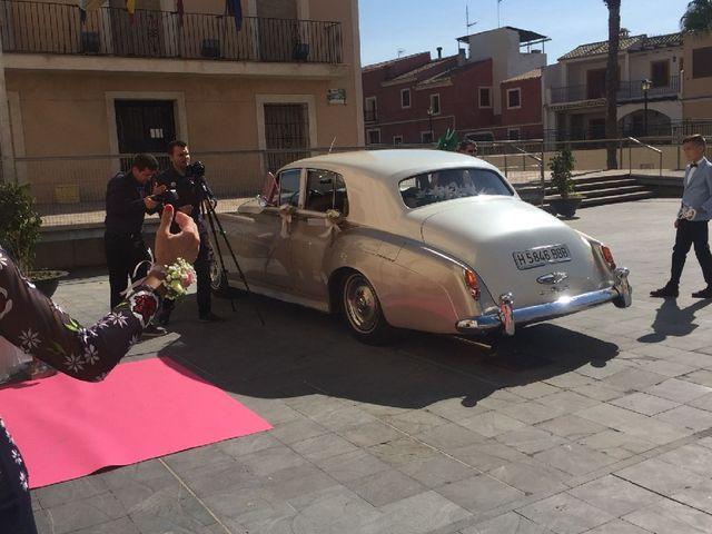 La boda de Enrique y Vanessa  en Las Yeseras (Villanueva Del Rio Segura), Murcia 12