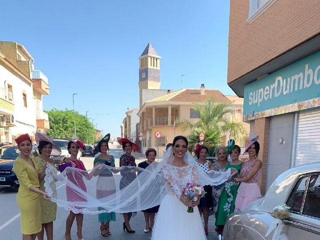 La boda de Enrique y Vanessa  en Las Yeseras (Villanueva Del Rio Segura), Murcia 13