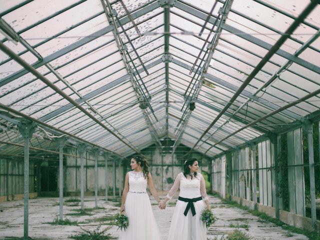 La boda de Ale y Marga