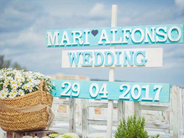 La boda de Alfonso y Mari en Es Pujols/els Pujols (Formentera), Islas Baleares 1