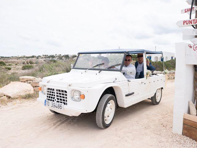 La boda de Alfonso y Mari en Es Pujols/els Pujols (Formentera), Islas Baleares 10