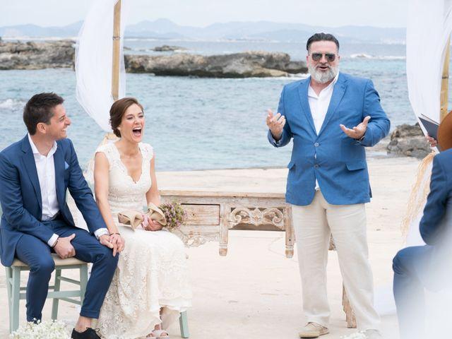 La boda de Alfonso y Mari en Es Pujols/els Pujols (Formentera), Islas Baleares 8