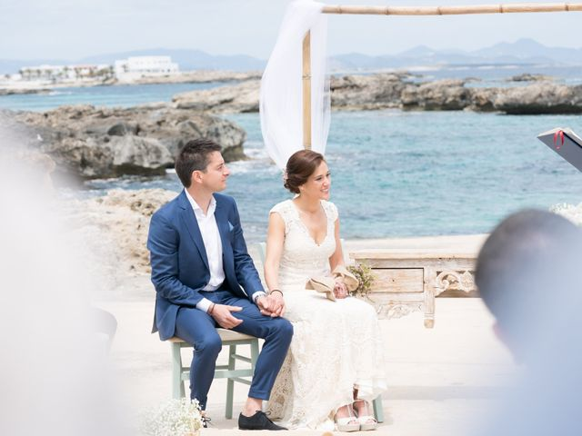 La boda de Alfonso y Mari en Es Pujols/els Pujols (Formentera), Islas Baleares 7