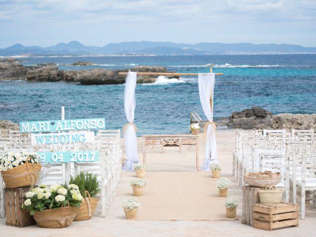La boda de Alfonso y Mari en Es Pujols/els Pujols (Formentera), Islas Baleares 20