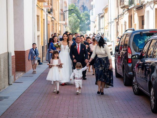 La boda de Jesús y Laura en Les Coves De Vinromà, Castellón 1
