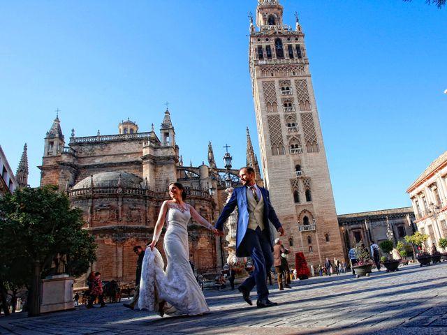 La boda de Ángel y Mercedes en Bollullos Par Del Condado, Huelva 13