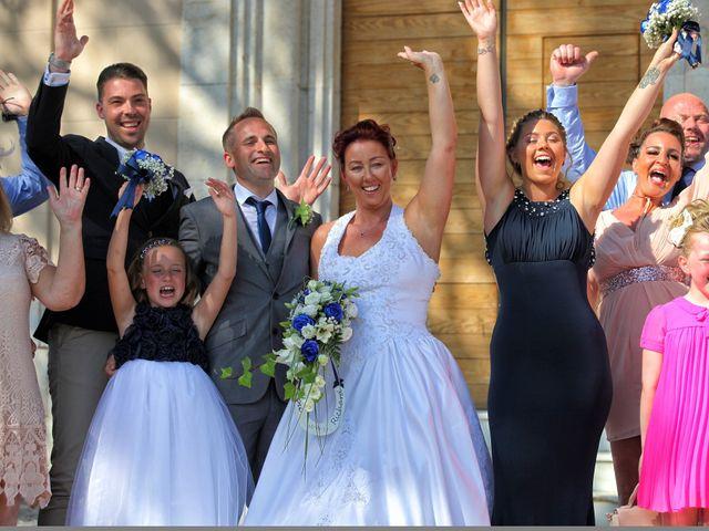 La boda de Lisa y Richard