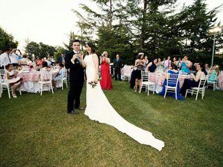 La boda de Rocío  y Tomás