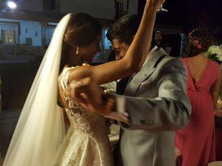 La boda de Carloty veras y Manuel caballero