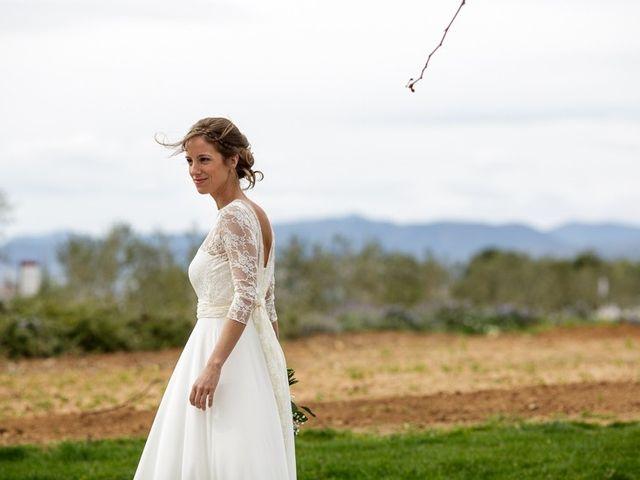 La boda de Santi y Aina en Sant Cugat Sesgarrigues, Barcelona 13