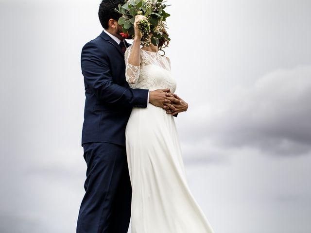 La boda de Santi y Aina en Sant Cugat Sesgarrigues, Barcelona 21