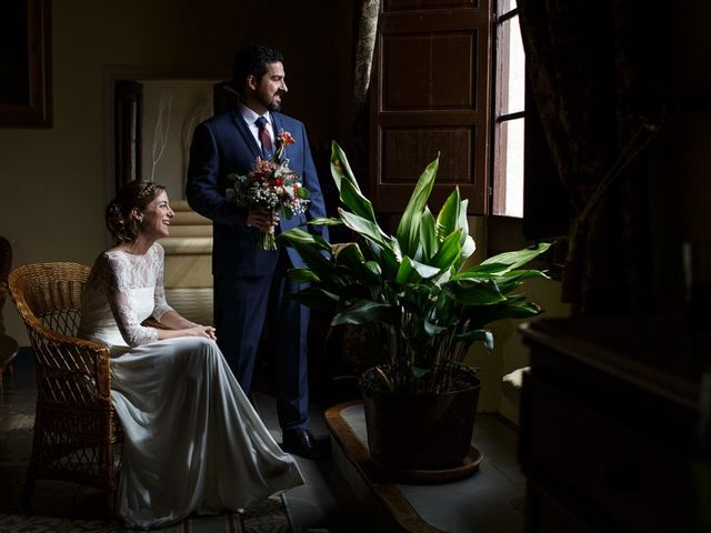 La boda de Santi y Aina en Sant Cugat Sesgarrigues, Barcelona 31