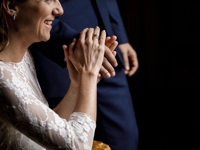 La boda de Santi y Aina en Sant Cugat Sesgarrigues, Barcelona 34