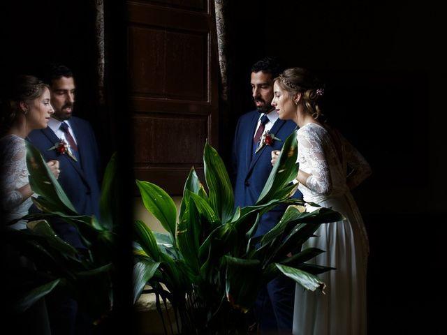 La boda de Santi y Aina en Sant Cugat Sesgarrigues, Barcelona 35