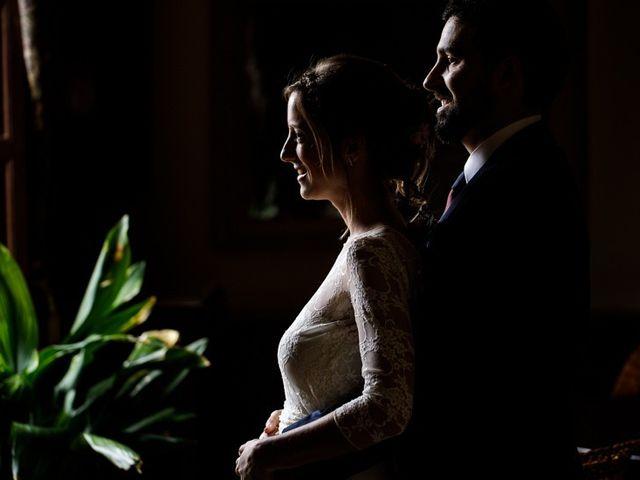 La boda de Santi y Aina en Sant Cugat Sesgarrigues, Barcelona 36