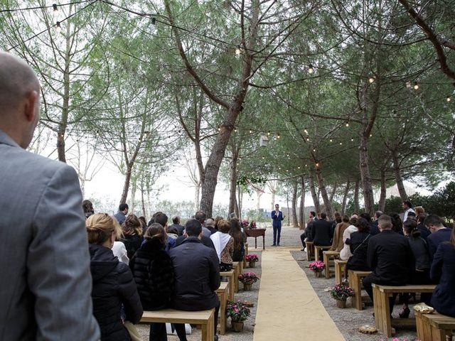 La boda de Santi y Aina en Sant Cugat Sesgarrigues, Barcelona 41