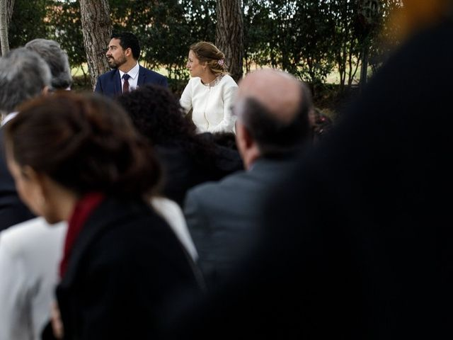 La boda de Santi y Aina en Sant Cugat Sesgarrigues, Barcelona 42