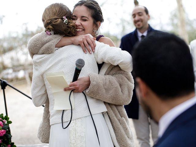 La boda de Santi y Aina en Sant Cugat Sesgarrigues, Barcelona 44