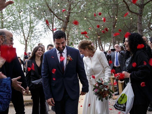 La boda de Santi y Aina en Sant Cugat Sesgarrigues, Barcelona 46