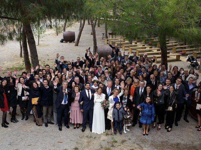 La boda de Santi y Aina en Sant Cugat Sesgarrigues, Barcelona 47