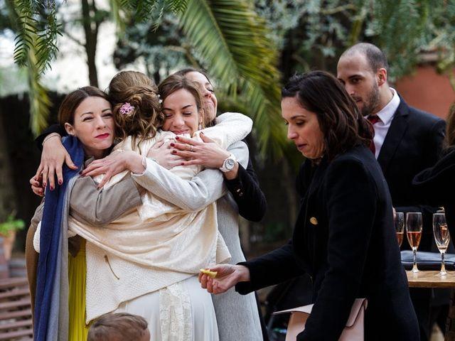 La boda de Santi y Aina en Sant Cugat Sesgarrigues, Barcelona 50