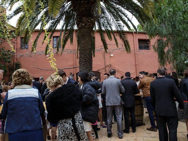 La boda de Santi y Aina en Sant Cugat Sesgarrigues, Barcelona 51