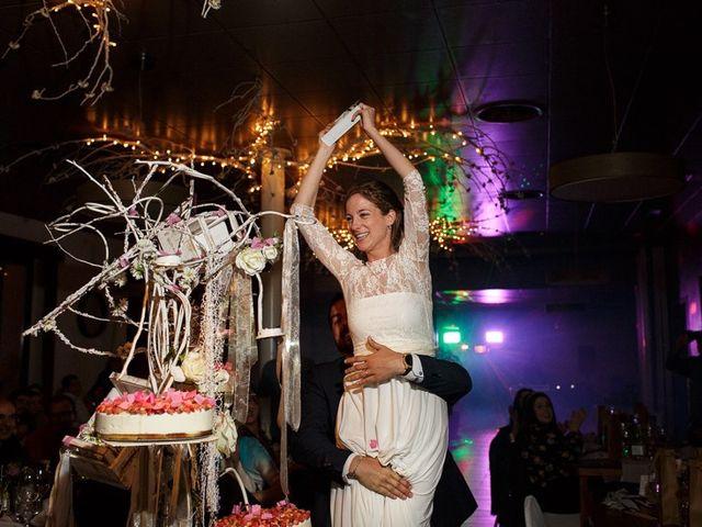 La boda de Santi y Aina en Sant Cugat Sesgarrigues, Barcelona 55