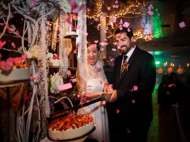 La boda de Santi y Aina en Sant Cugat Sesgarrigues, Barcelona 56