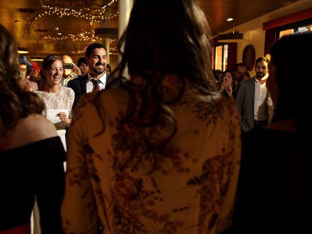 La boda de Santi y Aina en Sant Cugat Sesgarrigues, Barcelona 62