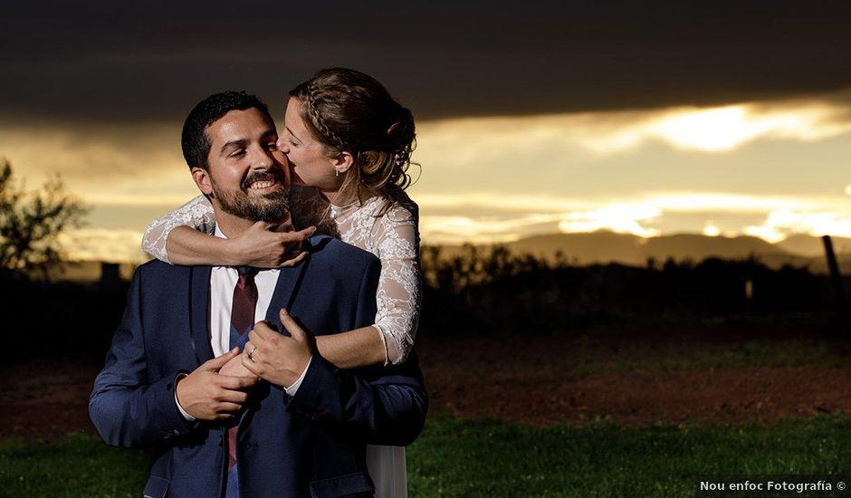 La boda de Santi y Aina en Sant Cugat Sesgarrigues, Barcelona